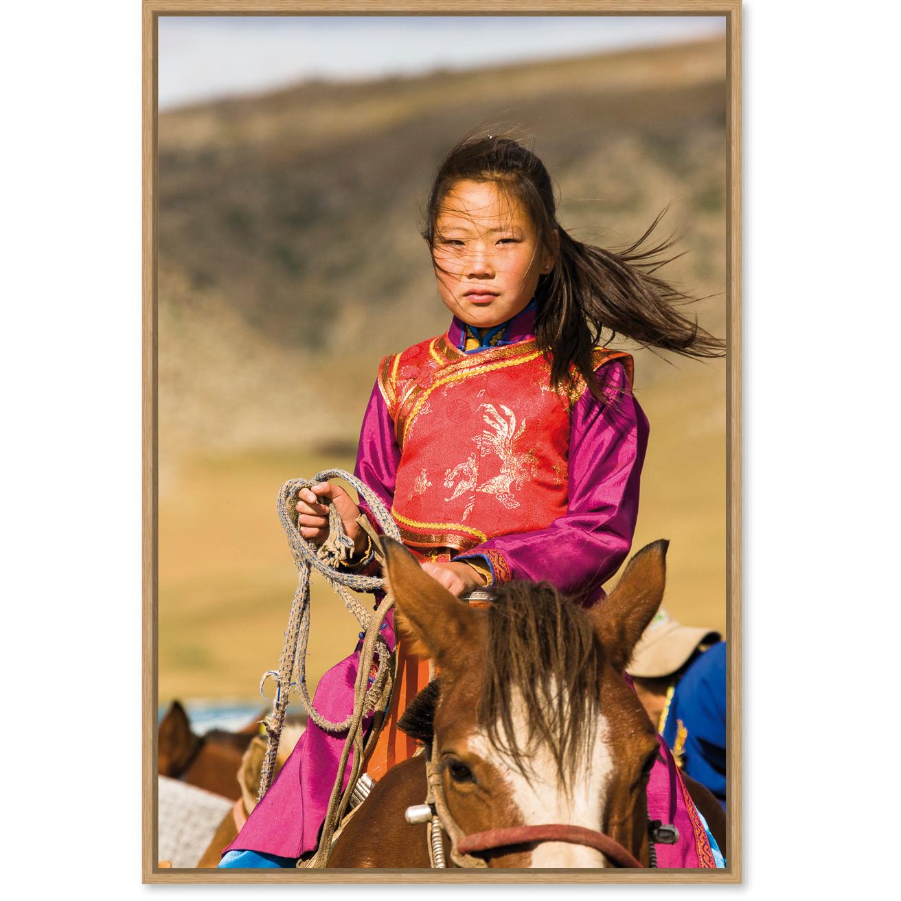 Mongolian Girl Daniel Martinek Photography